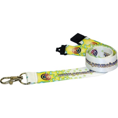 Image of 10mm Dye Sublimated Polyester Lanyard