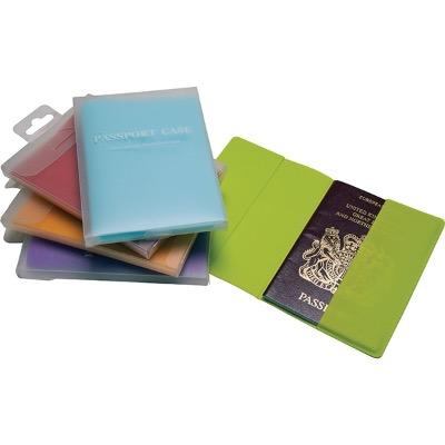 Image of Silicone Passport Wallet