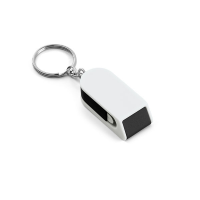 Image of Keyring With Support For The Phone And A Screen Cleaner