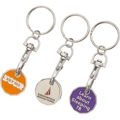 Image of Trolley Coin Key Ring