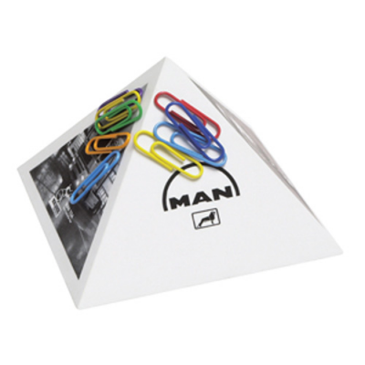 Image of Paper Clip Pyramid