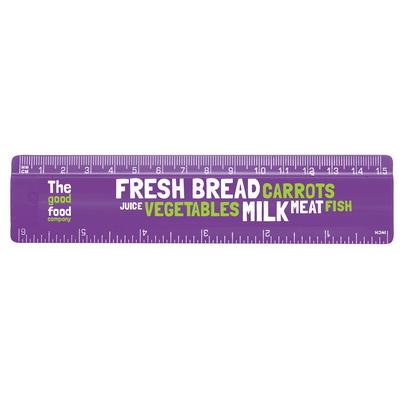"Image of 15cm/6"" Solid Plastic Ruler"