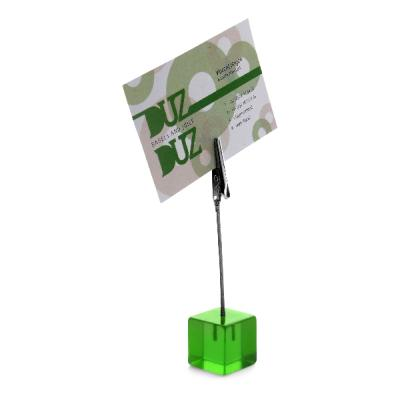 Image of Cube memo holder