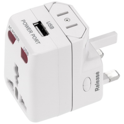 Image of One World USB Travel Adaptor