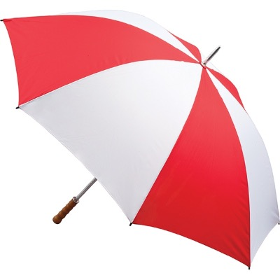 Image of Quantum Golf Umbrella - Red and White