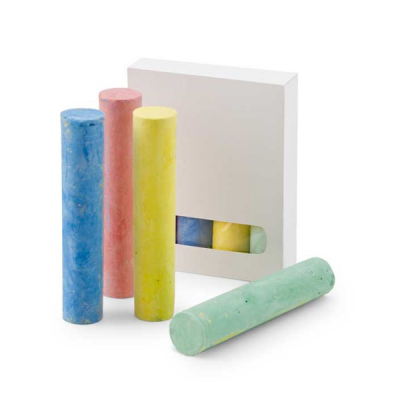 Image of Pack Of 4 Chalk Sticks