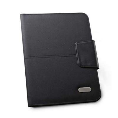 Image of Imitation Leather A4 Folder With Lined Notepad