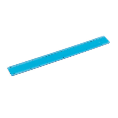 Image of Flexible Ruler Pvc With 30 Cm Printed Scale