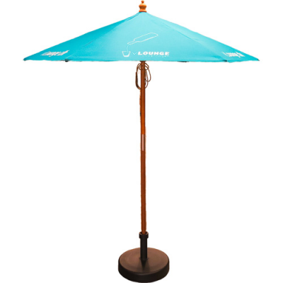 Image of 2m Wooden Parasol
