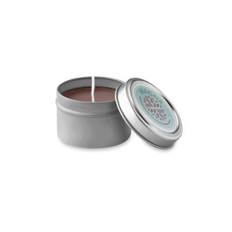 Image of Small Candle In Tin Box
