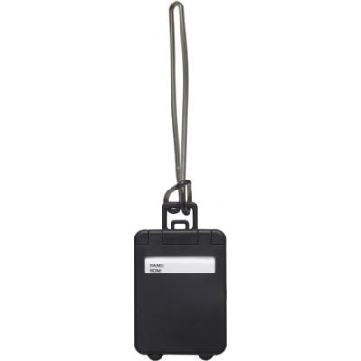 Image of Plastic luggage tag