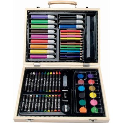 Image of 67 piece colouring set