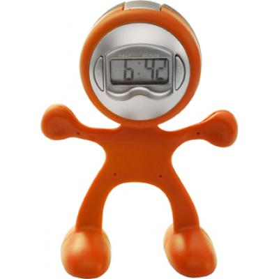 Image of Sport-man clock with alarm