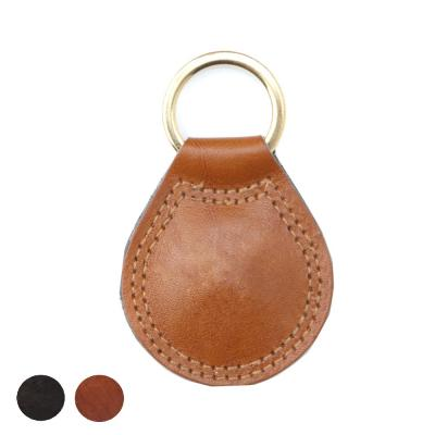 Image of Richmond Deluxe Nappa Leather Large Teardrop Key Fob
